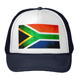 Colorful Contrast South AfricanFlag Cap