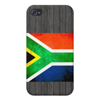 Colorful Contrast South AfricanFlag iPhone 4/4S Case