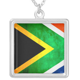 Colorful Contrast South AfricanFlag Custom Jewelry