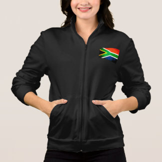 Colorful Contrast South AfricanFlag Printed Jackets