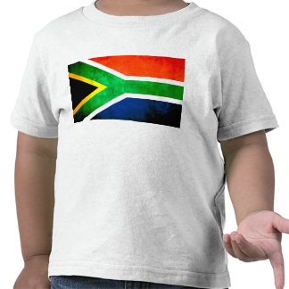 Colorful Contrast South AfricanFlag T Shirts
