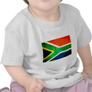 Colorful Contrast South AfricanFlag T Shirt