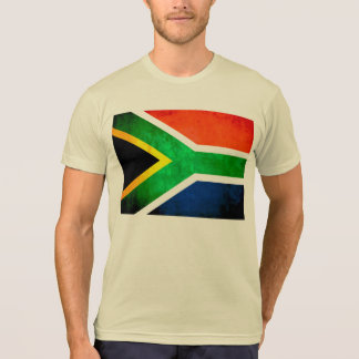 Colorful Contrast South AfricanFlag Tshirts