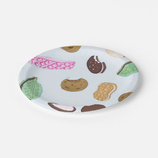 Colorful Cookies Paper Plates