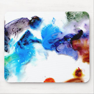 Colorful cool abstracts paints mouse pads
