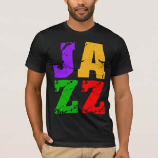 Colorful cool jazz T-Shirt
