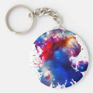 Colorful Cosmos Key Chains