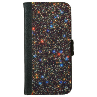 Colorful Cosmos Stars & Sparkless G1 iPhone 6 Wallet Case