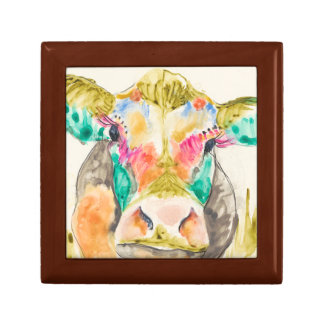Colorful Cow Design Gift Box