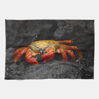 Colorful Crab Tea Towel