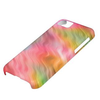 Colorful Crane Flower Wavy Texture iPhone 5C Case