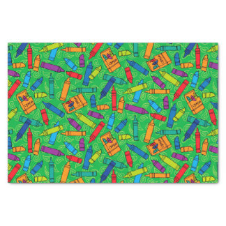 Colorful Crayons Tissue Paper