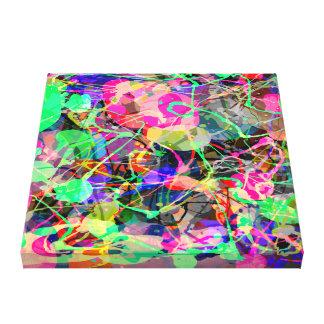 Colorful Creative Chaos Canvas Prints