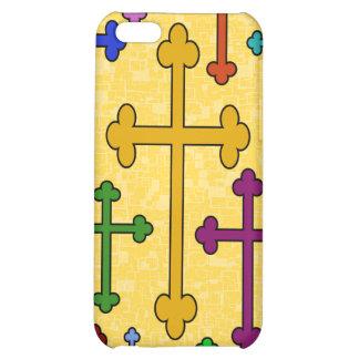 COLORFUL CROSSES iPhone 4 Speck Case iPhone 5C Cases
