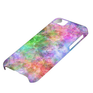 Colorful Crumpled Texture iPhone 5C Case