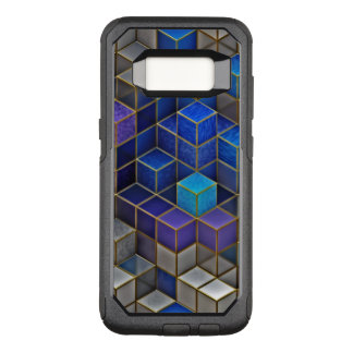 Colorful Cubes Pattern OtterBox Commuter Samsung Galaxy S8 Case