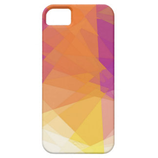 Colorful cubism abstract art iPhone 5 cover