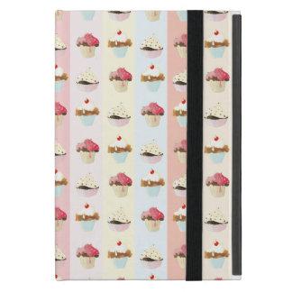 colorful cupcake iPad mini cases