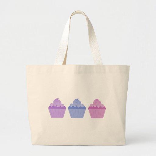 Colorful Cupcakes Tote Bags