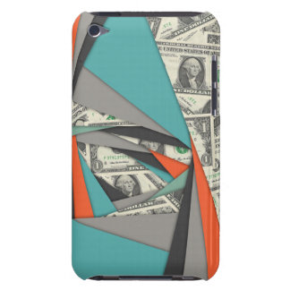Colorful Currency Collage Barely There iPod Cover