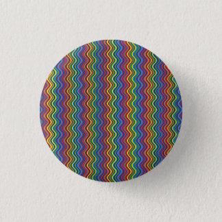 Colorful Curves 3 Cm Round Badge