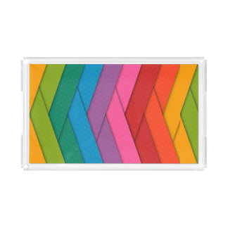 Colorful Custom Small Rectangle Tray