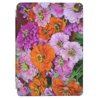 Colorful dahlia floral print iPad air cover
