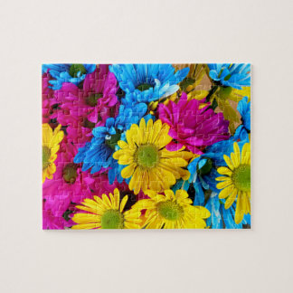 Colorful Daisies 8x10 Jigsaw Puzzle