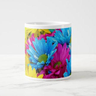 Colorful Daisies Jumbo Mug