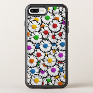 Colorful daisies OtterBox symmetry iPhone 7 plus case