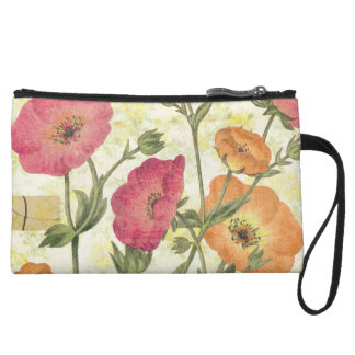Colorful Daisies Wristlet