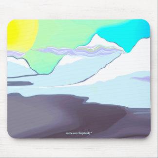 Colorful Dallas Morning Mousepad