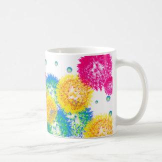 Colorful Dandelions Mug