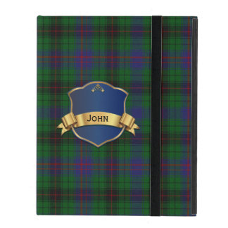 Colorful Davidson iPad Folio Case