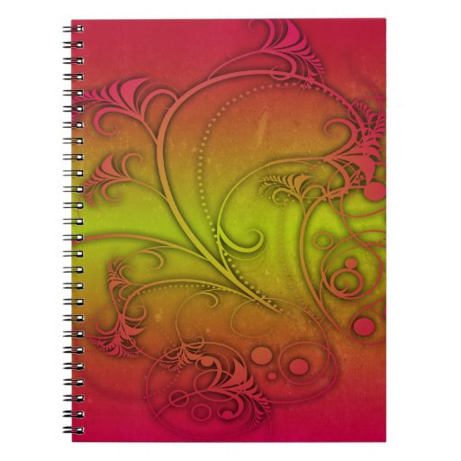 Colorful Decoration Notebook
