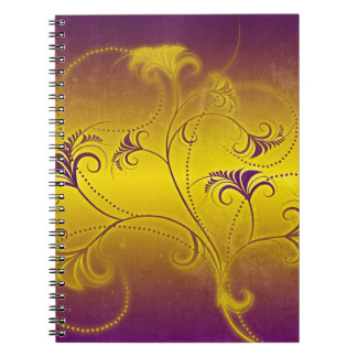 Colorful Decoration Spiral Notebook
