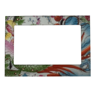 Colorful Decorative Design Magnetic Frame