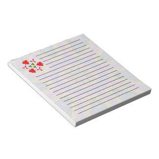 Colorful decorative mosaic notepad