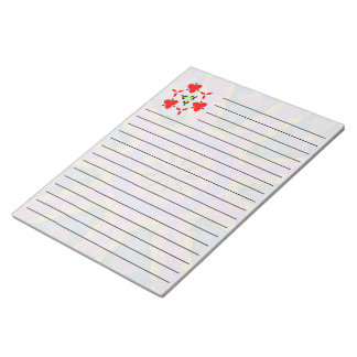 Colorful decorative mosaic notepad