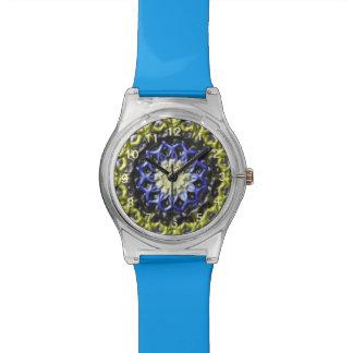 Colorful decorative pattern watch