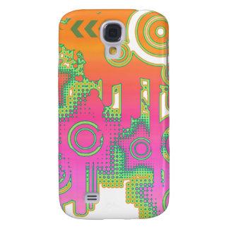 Colorful/Decorative Urban Style Custom Design Galaxy S4 Case