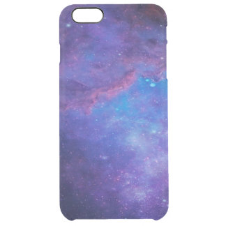 Colorful Deep Space Background Clear iPhone 6 Plus Case