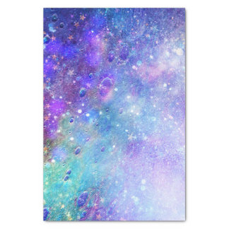 Colorful Deep Space Background Tissue Paper