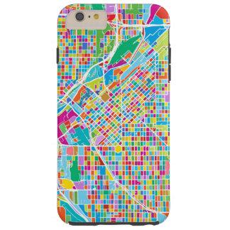 Colorful Denver Map Tough iPhone 6 Plus Case