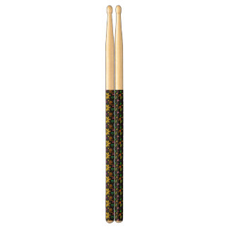 Colorful design of background for kids drumsticks