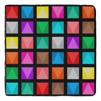 Colorful design trivets