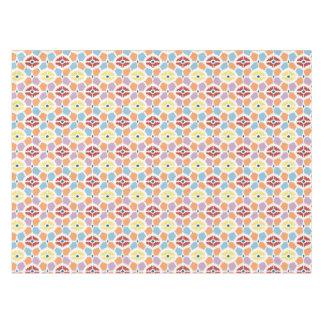 Colorful diamonds ikat geometric tablecloth