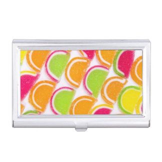 Colorful Different Jelly Candy Business Card Holders