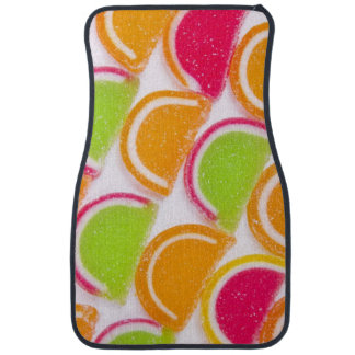 Colorful Different Jelly Candy Car Mat