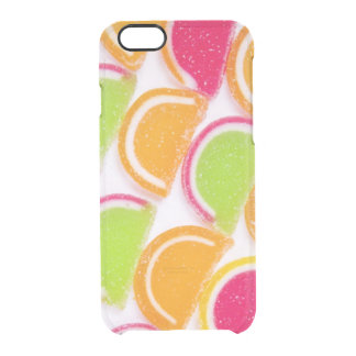 Colorful Different Jelly Candy Clear iPhone 6/6S Case